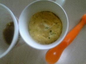 カップラーメン茶碗蒸し